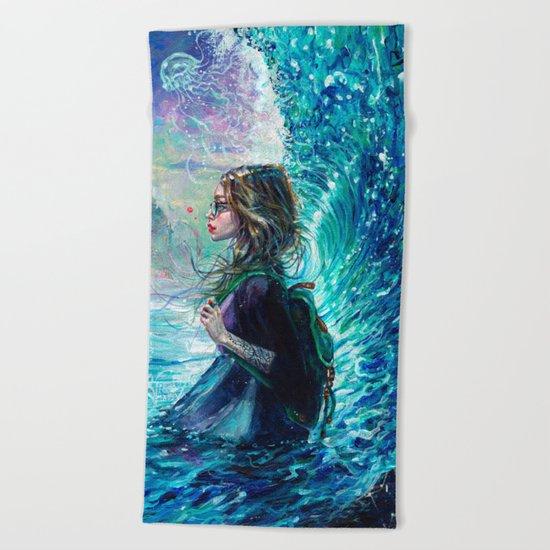 The Wave Beach Towel