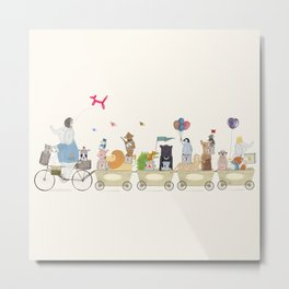 playtime parade Metal Print