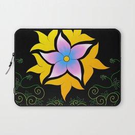 Flower of the Sun Laptop Sleeve
