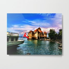 Swiss Metal Print