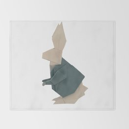 The Rab origami Throw Blanket