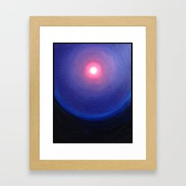 Once Upon A Blue Moon Framed Art Print