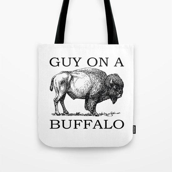 Guy on a Buffalo by halamo
