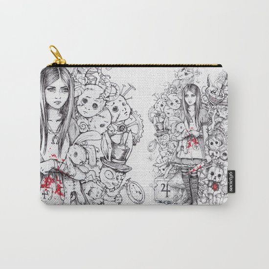 wonderland shattered Carry-All Pouch