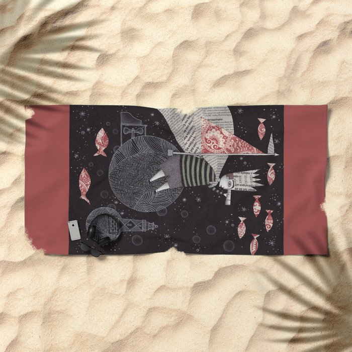 Five Hundred Million Little Bells (3) Beach Towel