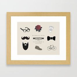 Beginners Guide Framed Art Print