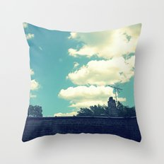 summer like when you were a kid Throw Pillow