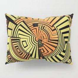 Futuristic technology abstract Pillow Sham