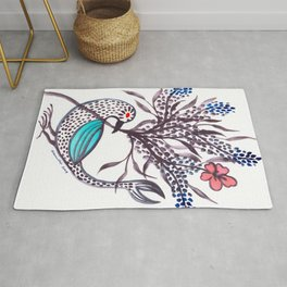 Blue-Winged Rug