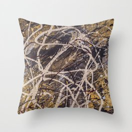 Verness painting Throw Pillow