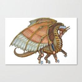 Dragon Steam Canvas Print