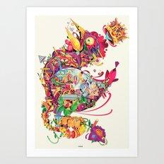 coq Art Print