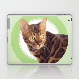 Boris the cat - Boris le chat Laptop & iPad Skin