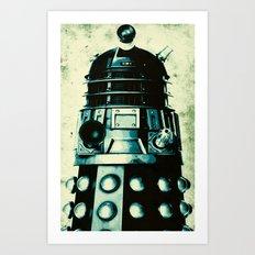 DOCTOR WHO SERIES / DALEK Art Print
