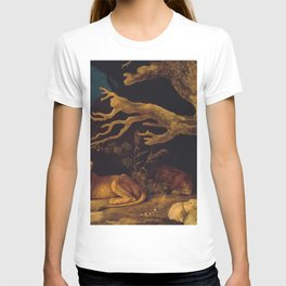 Lion and lioness - George Stubbs - 1771 T-shirt