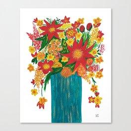 Sunny bouquet Canvas Print