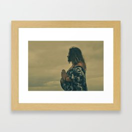 At The Summit Framed Art Print