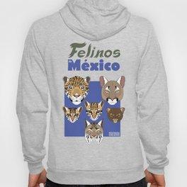 Felinos de México Hoody