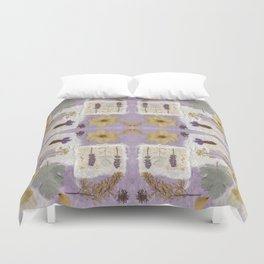 Lavender Collage Duvet Cover