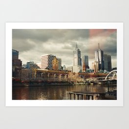 I Left My Heart in Melbourne Art Print