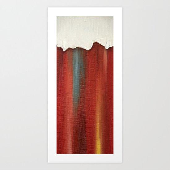 Reveal - 8 Art Print