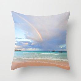 Bermuda Beach 3 Throw Pillow
