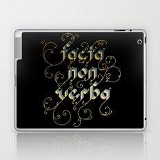Actions speak louder than words Laptop & iPad Skin