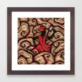 Orixás - Xango Framed Art Print
