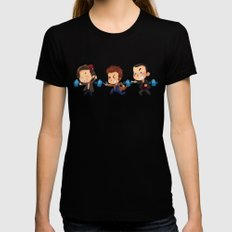 The Doctors! LARGE Black Womens Fitted Tee