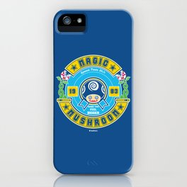 Magic Mushroom iPhone Case