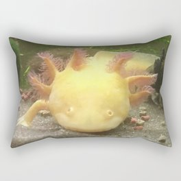 Sunshine the Axolotl Rectangular Pillow