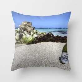 Pure Blonde Throw Pillow