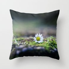 Just a Daisy Throw Pillow