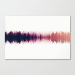 Sound waves -fall Canvas Print