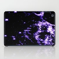 cosmic iPad Cases featuring COSMIC Electricity Purple by 2sweet4words Designs