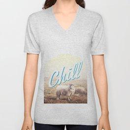 Sheep - chill Unisex V-Neck