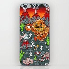 Volcano Lands iPhone Skin