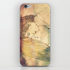 I just want to get your eyes right iPhone & iPod Skin