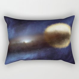 Mystery of the fading star Rectangular Pillow