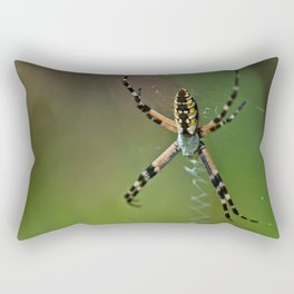 Orangya glad I didn't say Banana Spider Rectangular Pillow