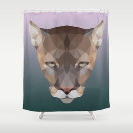 Polygon Puma Shower Curtain