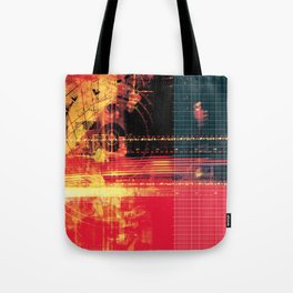 X Machina #2 Tote Bag