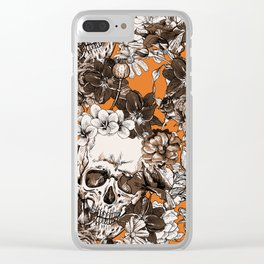 SKULLS 2 HALLOWEEN Clear iPhone Case