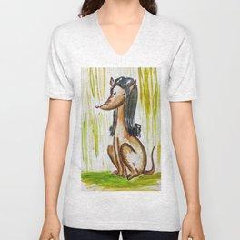 Perro mujer Unisex V-Neck