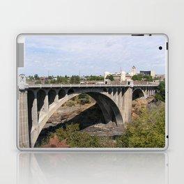 Monroe Street Bridge in Spokane Washington Laptop & iPad Skin