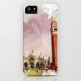 the Piazza iPhone Case