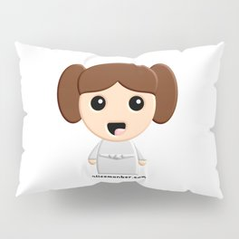 Kokeshi Star Peace Princess Pillow Sham