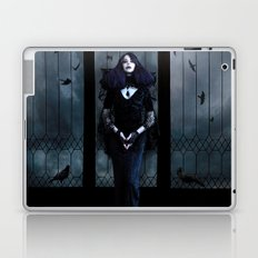 Lady of Crows Laptop & iPad Skin