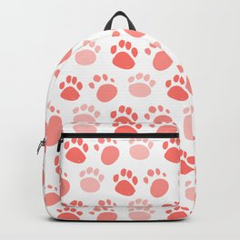 Lovely Foot Pattern Backpack
