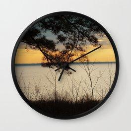 Lake Maury, Newport News, VA Wall Clock